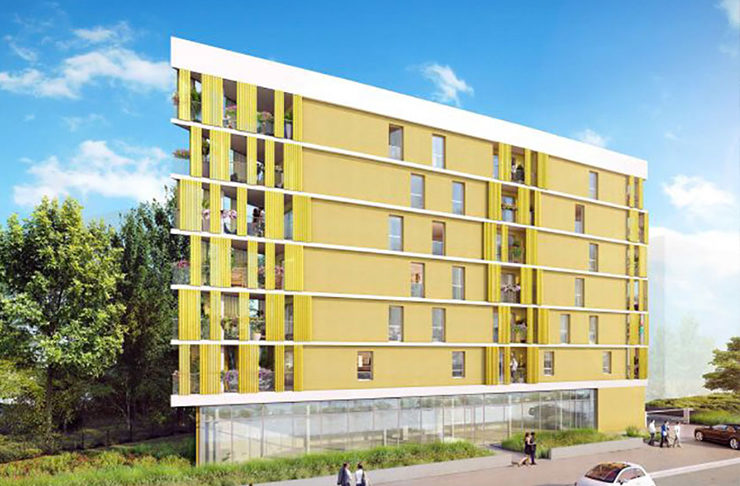 appartements neufs à vendre à Nantes quartier Erdre