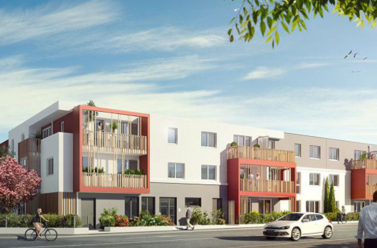 Programme immobilier neuf appartements à vendre à Saint-Nazaire