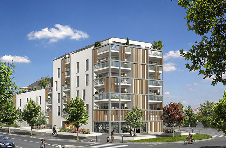 appartements à vendre proche du Parc de Procé à Nantes