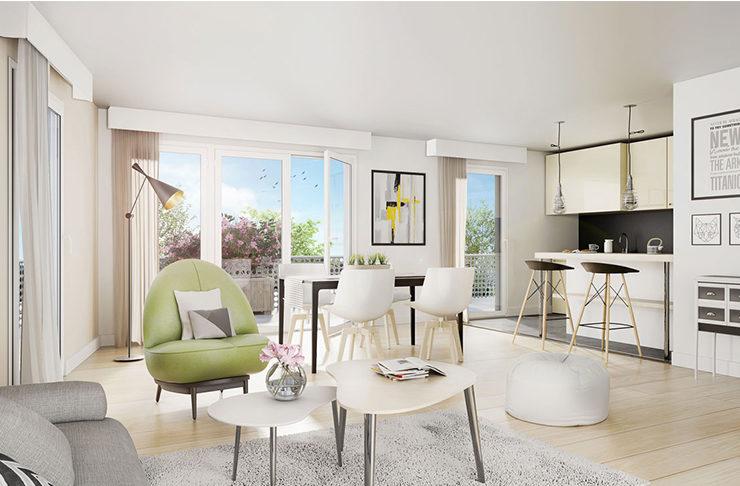 immobilier appartements neufs à vendre à Saint-Nazaire proche de la mer