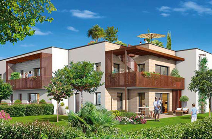 appartements neufs à vendre Bordeaux métropole à Villenave d
