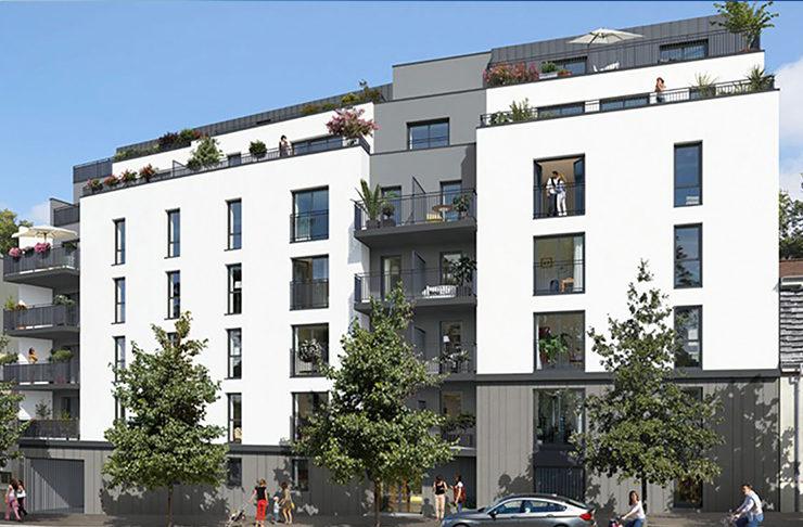 appartement neuf à vendre à Nantes investir défiscaliser ou habiter