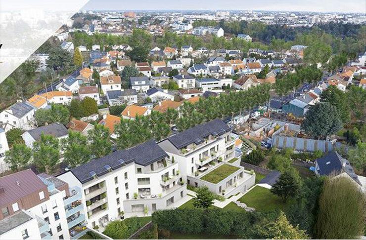 appartement neuf nantes quartier Procé vente acaht immobilier sans honoraires
