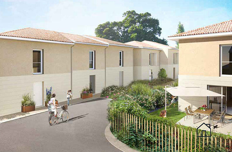 maison achat immobilier neuf Bordeaux Métropole Le Taillan-Médoc