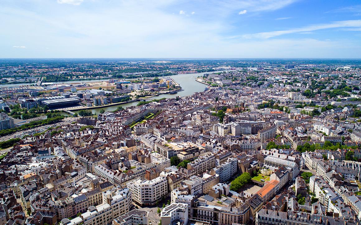 Nantes vue de haut les lieux incontournables de la ville