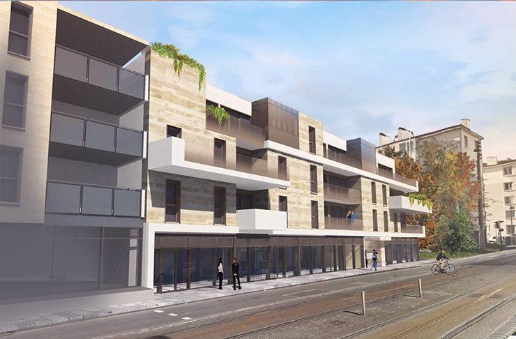 chat vente recherche appartement neuf Le Bouscat immeuble
