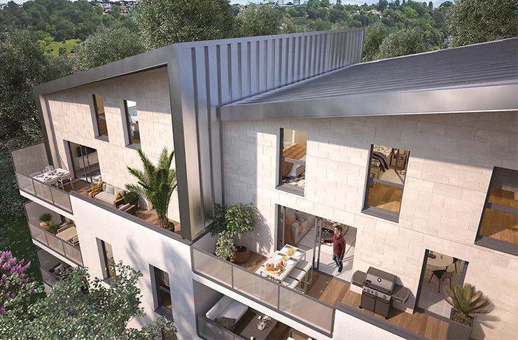 appartements neufs en vente à Bordeaux quartier Bastide investissement locatif en loi pinel ou acaht immobilier pour y vivre