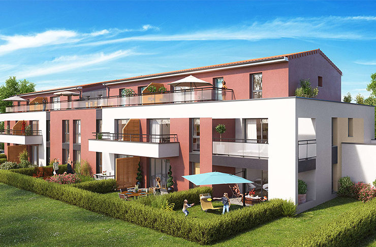 appartement neuf à vendre Le Pellerin Nantes Loire-Atlantique avec jardin balcon ou terrasse