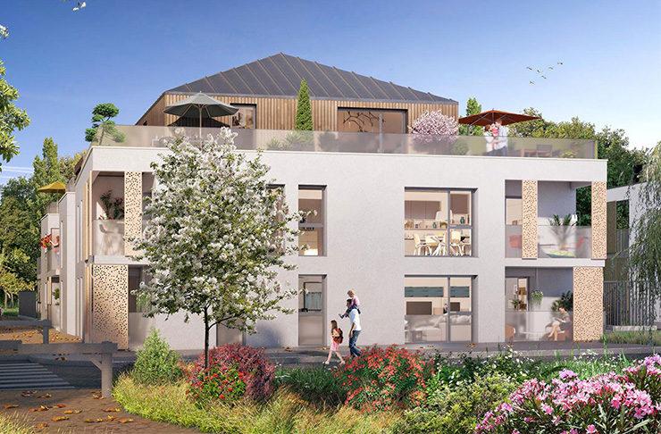 achat appartement Nantes Erdre façade