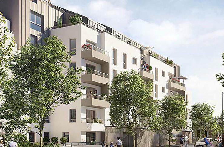 Appartements neufs Nantes quartier Hauts Pavés Saint-Félixs