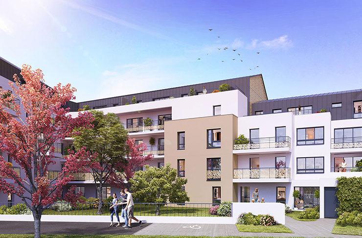 programme immobilier neuf appartements nantes quartier saint clément