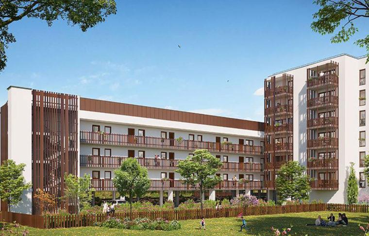 programme immobilier neuf appartement neuf en vente à Lormont