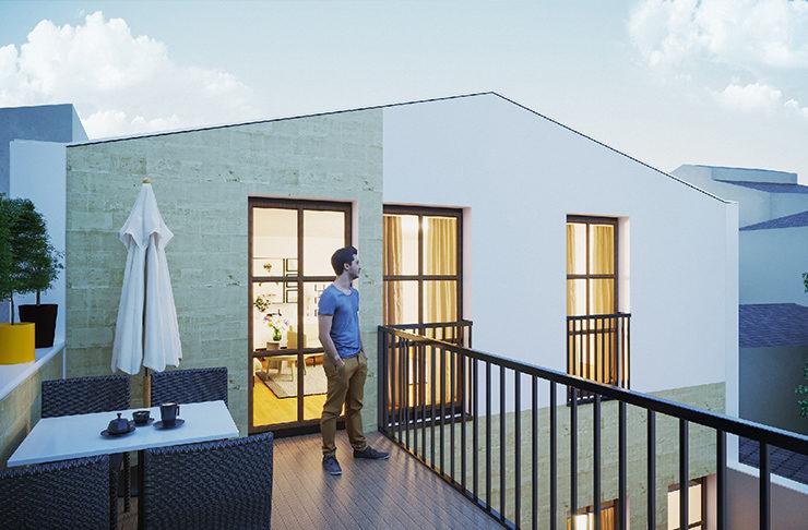appartements réhabilités à vendre quartier Chartrons à Bordeaux en Loi Pinel