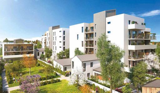 appartement neuf à vendre à Lormont en investissement locatif ou en résidence principale