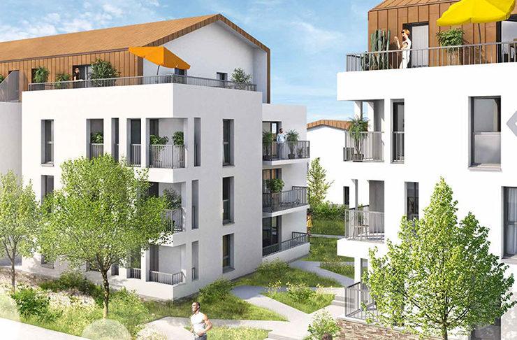 vente appartement maison neuf Couëron Nantes Loire Atlantique