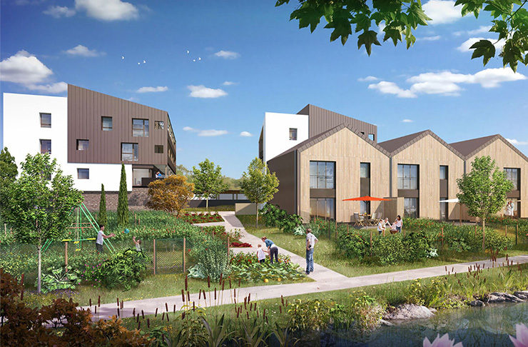 appartements et maisons neufs à vendre à Couëron pour un investissement locatif en Loi Pinel ou une résidence principale