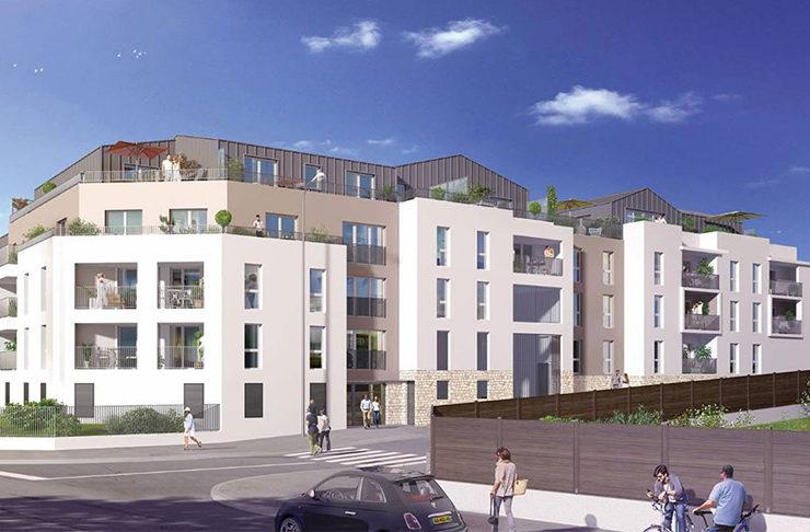 programme immobilier neuf appartemnts neufs en vente à Saint-Herblain pour une invesissement locatif en Loi Pinel ou une résidence principale