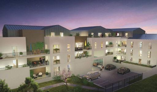 programme immobilier neuf appartements neufs en vente à Saint-Herblain pour une invesissement locatif en Loi Pinel ou une résidence principale